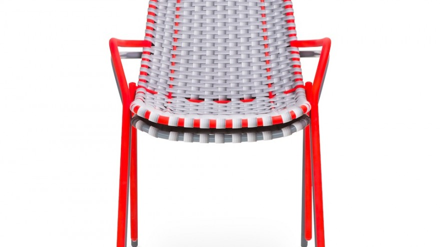 Strap Chair by Scholten & Baijings for Moustache. Image: Charles Negre.