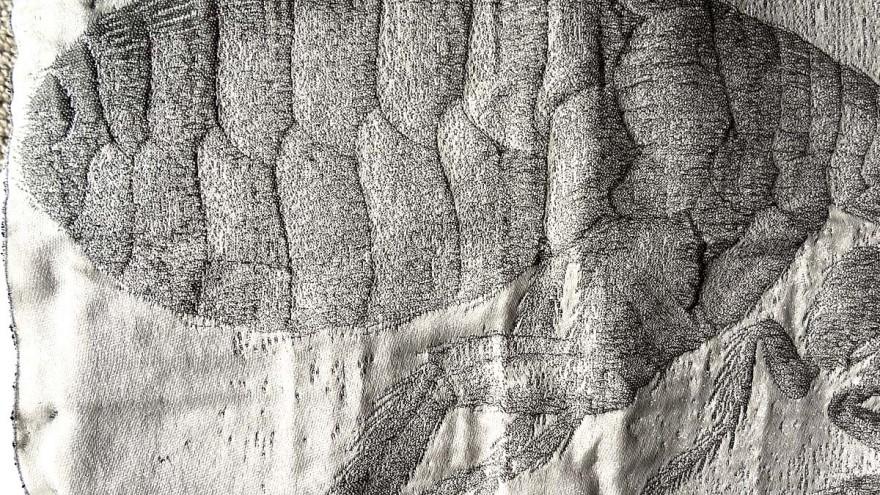 Textile design by Zinzi de Brouwer.
