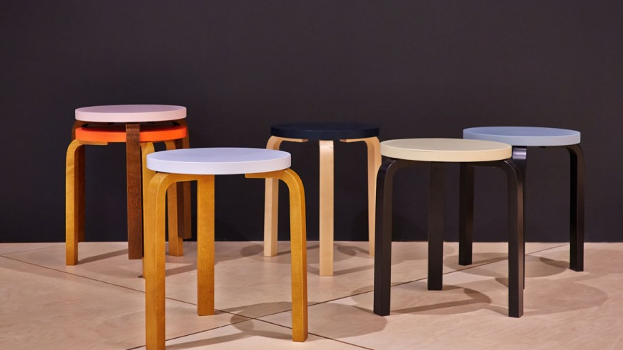 Stool 60 by Hella Jongerius for Artek.