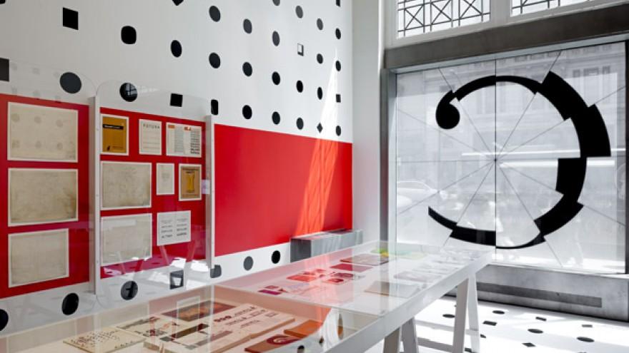 Century: 100 Years of Type and Design exhibition design by Abbott Miller.