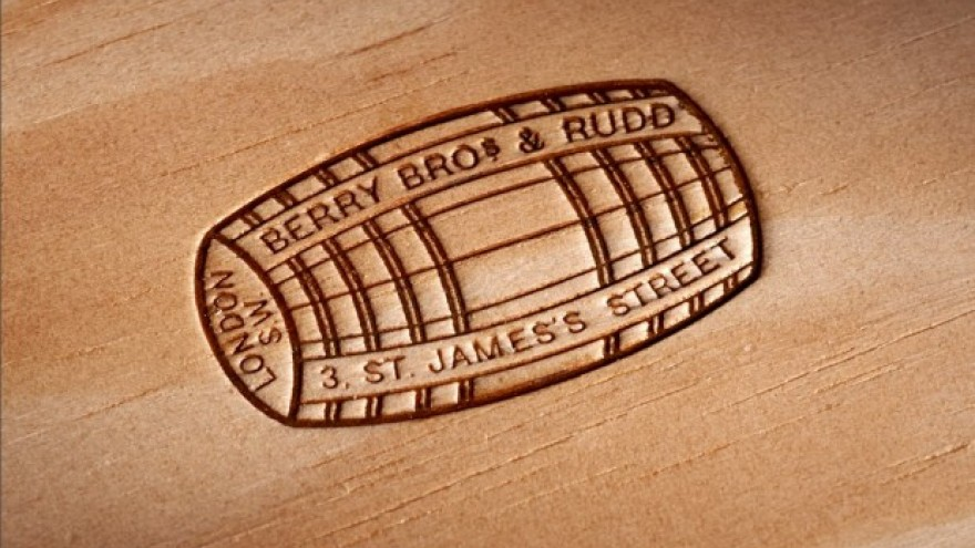 Berry Bros. & Rudd identity design by Harry Pearce.