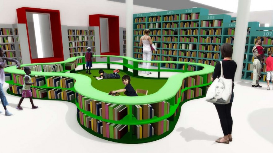 For the joy of reading design indaba for Reading space design