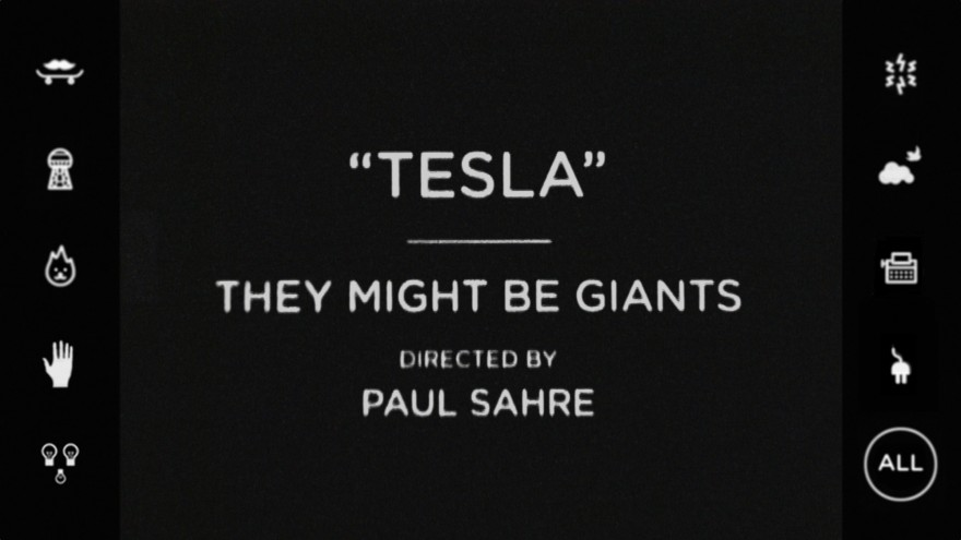 """This time the band asked if we could work the song titled 'Tesla.' The song is about the miraculous inventor and thinker Nikola Tesla (1856-1943) and is another in their series of 'biography' songs they have done over the years (others have included James K. Polk and James Ensor),"" says Sahre."
