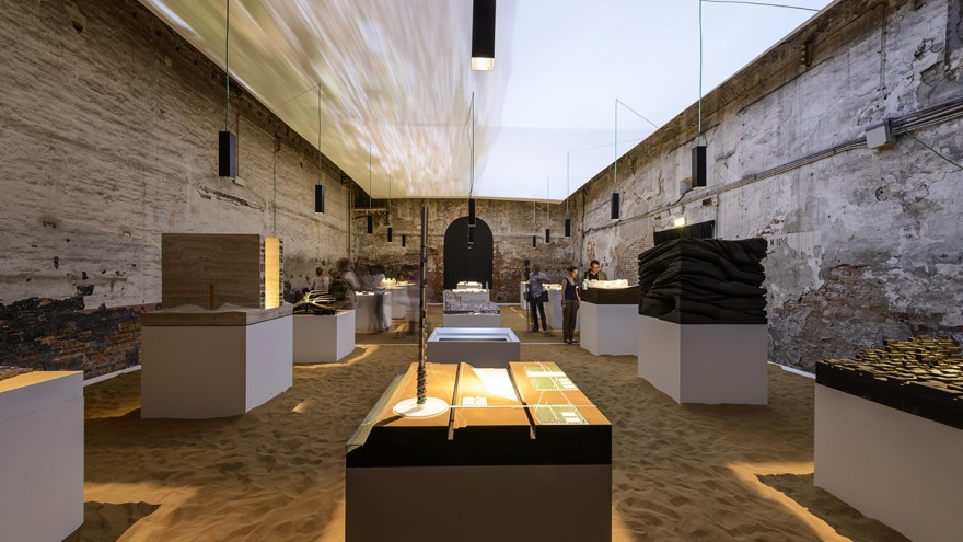 The first-ever Morocco Pavilion at the Venice Biennale 2014.