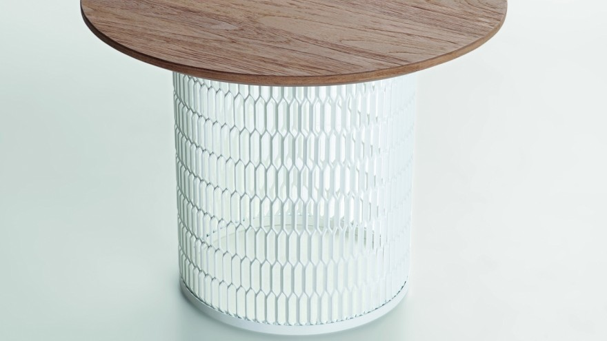 Kettal Mesh collection by Patricia Urquiola for Kettal.