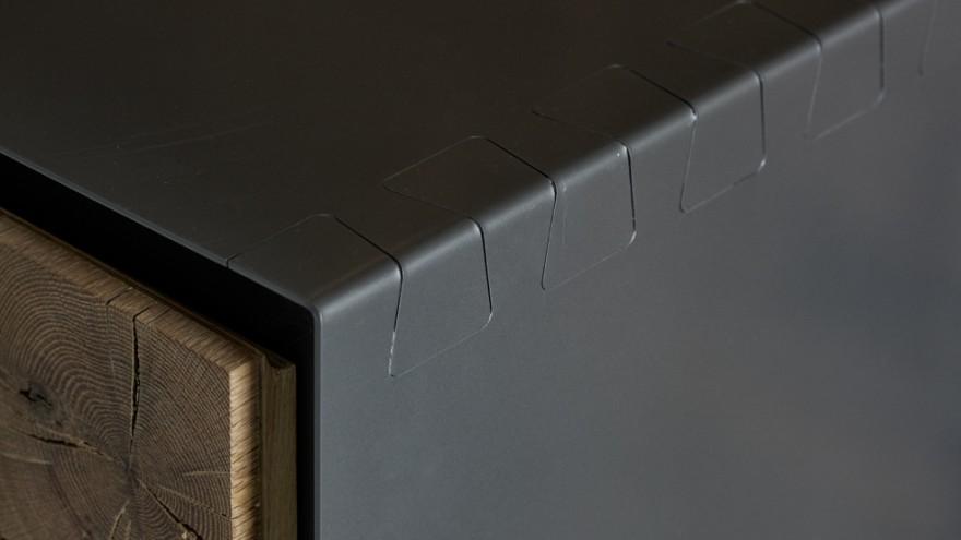 Instomi metal sideboard by Meyer von Wielligh