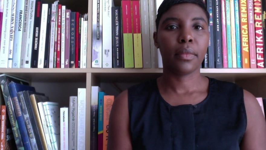Independent curator Christine Eyene,