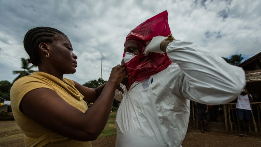 Fighting Ebola: Grand Challenge for Development. Photos: Morgana Wingard for USAID.