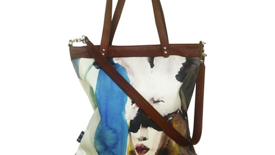 Bye Bye Bunny bag by Victoria Verbaan.