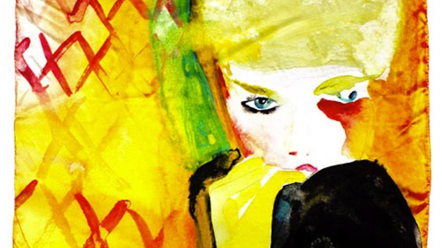 Play Nice scarf by Victoria Verbaan.