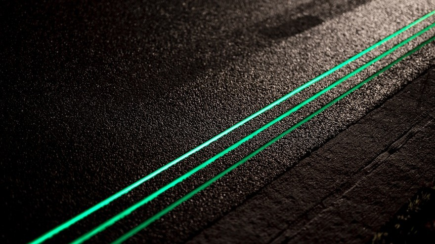 Smart Highway by Daan Roosegaarde.
