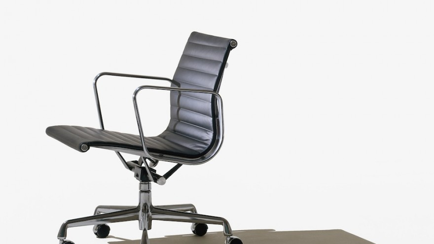 Eames Aluminum Group Executive Chair by Ray and Charles Eames.