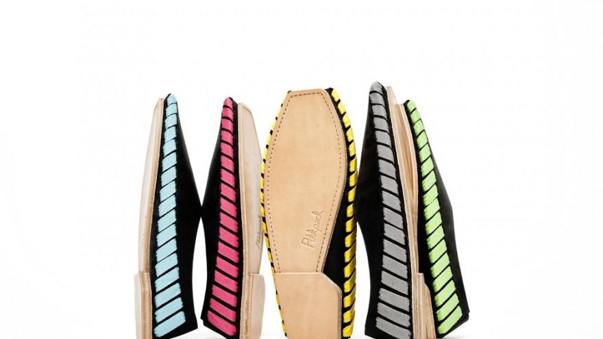 Pikkpack shoes designed by Sara Gulyas. Image: Krisztina Filep.