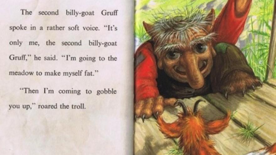 "Ladybird's ""Three Billy Goats Gruff""."