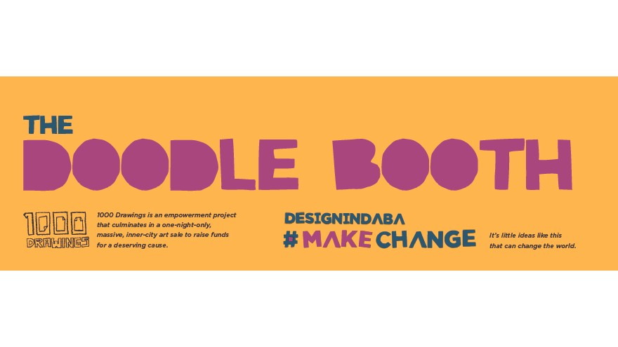 Doodle for a Difference at Design Indaba Expo 2015.