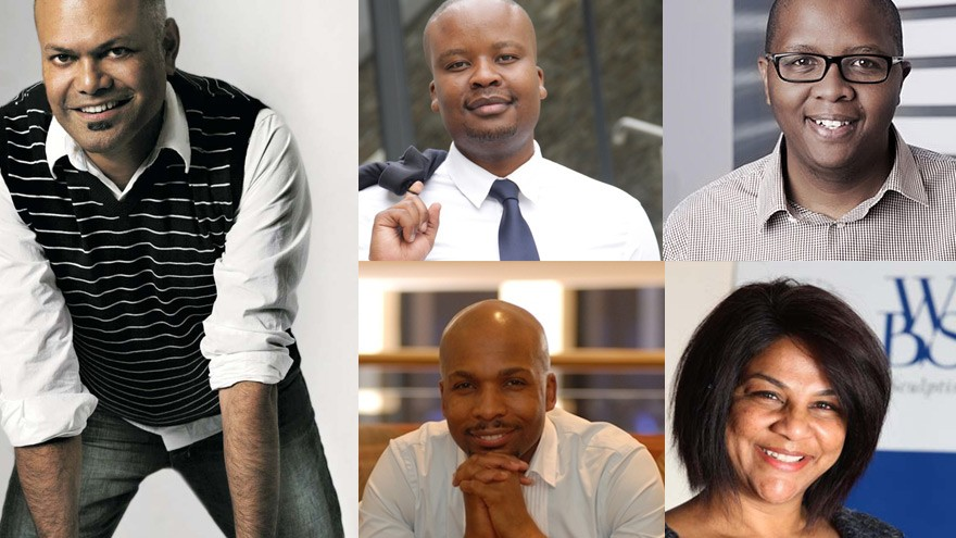 "Chivas Regal introduces its panel of five esteemed judges for the ""Win The Right Way"" competition: Ravi Naidoo, Lebo Gunguluza, Chimney Chetty, Xolisa Dyeshana and Tebogo Ditshego."