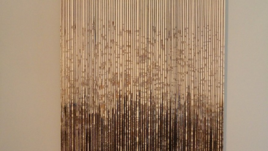 """""""Burned Lines II"""" by Lars Fischedick."""