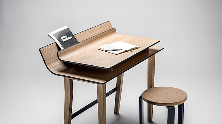Sheets table by Lucie Koldova for Křehký.