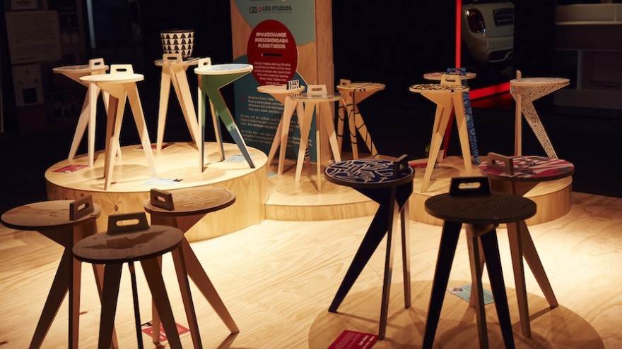 CREATe.CHANGE a project from Design Indaba and Leg Studios