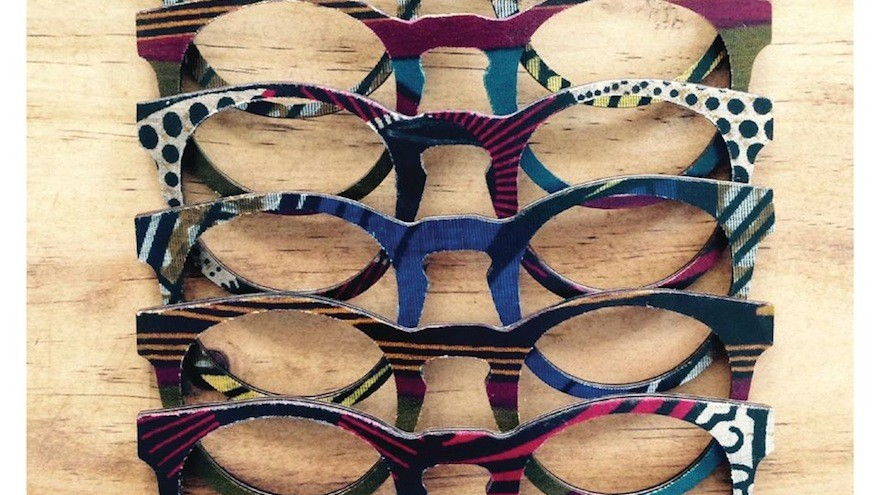A selection of the world's only ShweShwe frames.