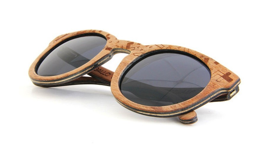 Ballo wooden eyewear is made locally from wood offcuts and recycled paper. The eyewood range includes frames covered with ShweShwe fabric and limited edition AEP frames with a custom artist design etched into the wood.