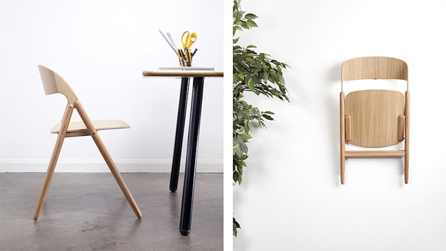 David Irwinu0027s contemporary folding chair. & A contemporary folding chair by David Irwin Studio | Design Indaba
