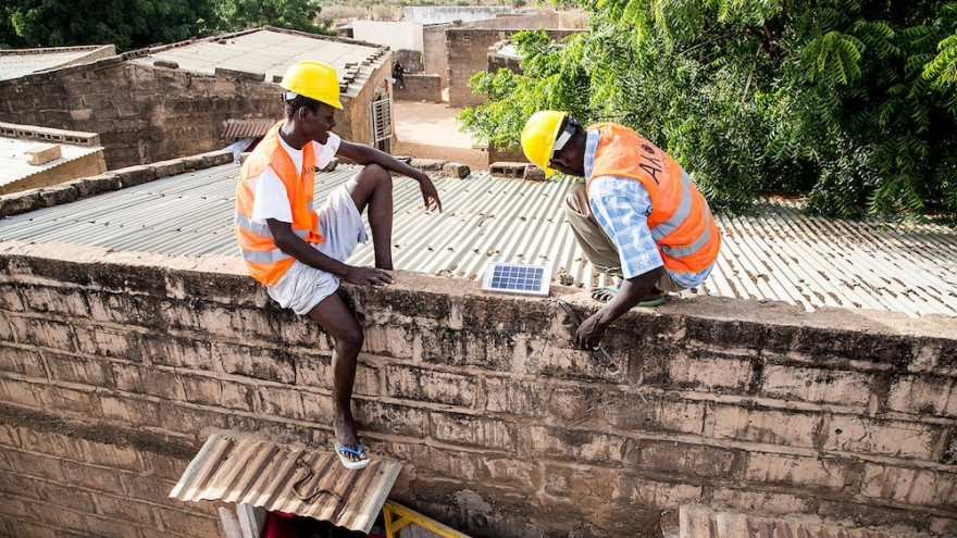 The solar installation programme is not only bringing light to rural areas - it's also creating jobs.