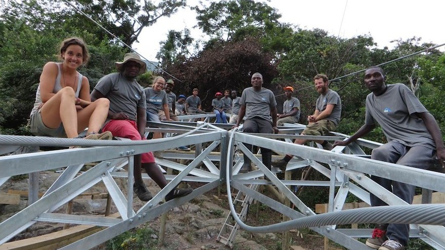NPO buildCollective is collaborating with Austrian thesis students to build a sustainable bridge across the Mzamba River in the Eastern Cape