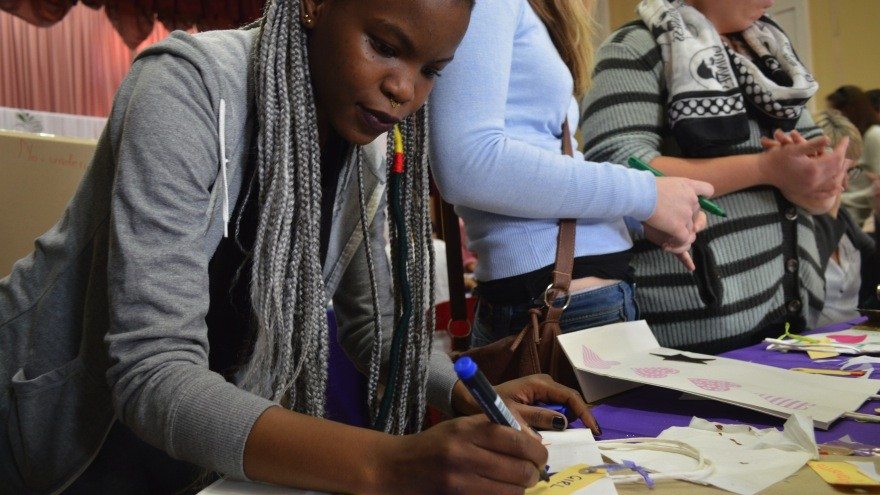 The Rape Crisis Centre invited members of the community in and around Mowbray to decorate and create care packs for rape survivors