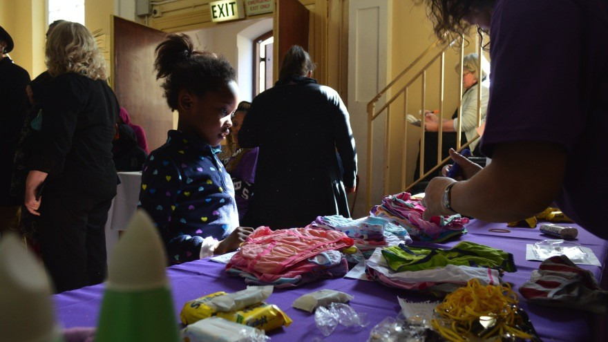 The Rape Crisis Centre invited members of the community in and aroundMowbray to decorate and create care packs for rape survivors