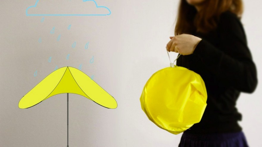 Drop pop-up umbrella by Ayca Dundar
