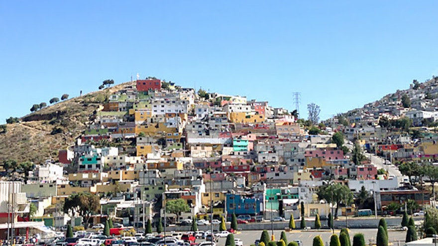 The Las Palmitas Pachuca District in Mexico was notorious for it's drug related crime and poverty.