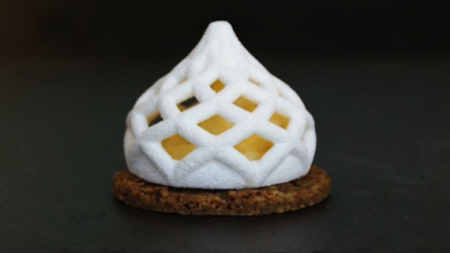 The sweeter side of 3D printing: 3DChef prints with sugar
