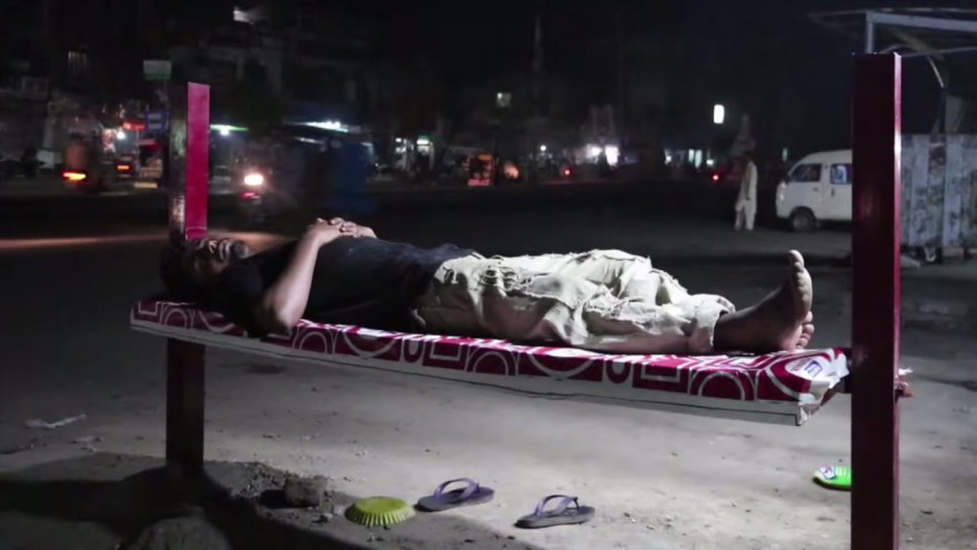 The BillBed provides beds for the homeless