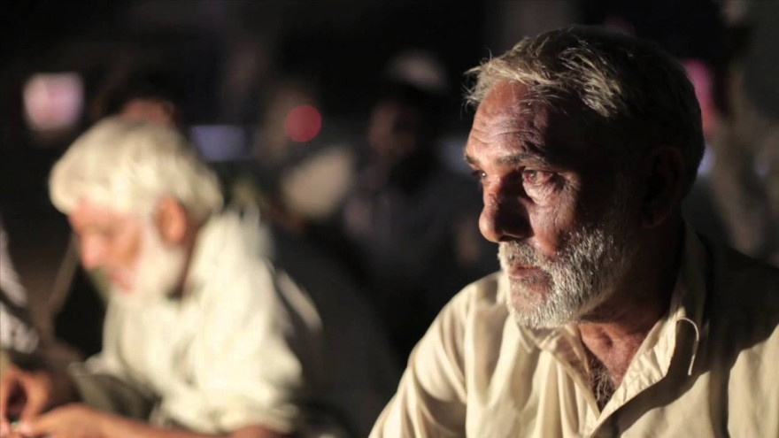 Homeless labourers in Pakistan