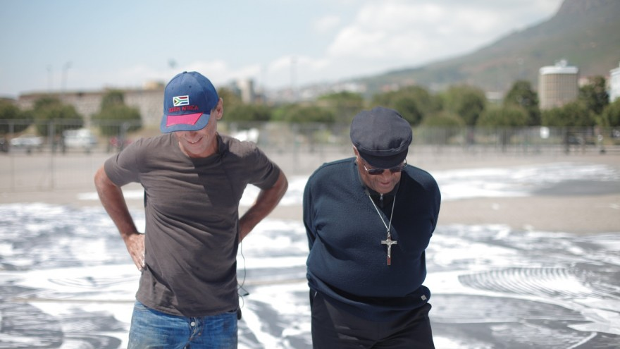 Ralph Ziman and Desmond Tutu