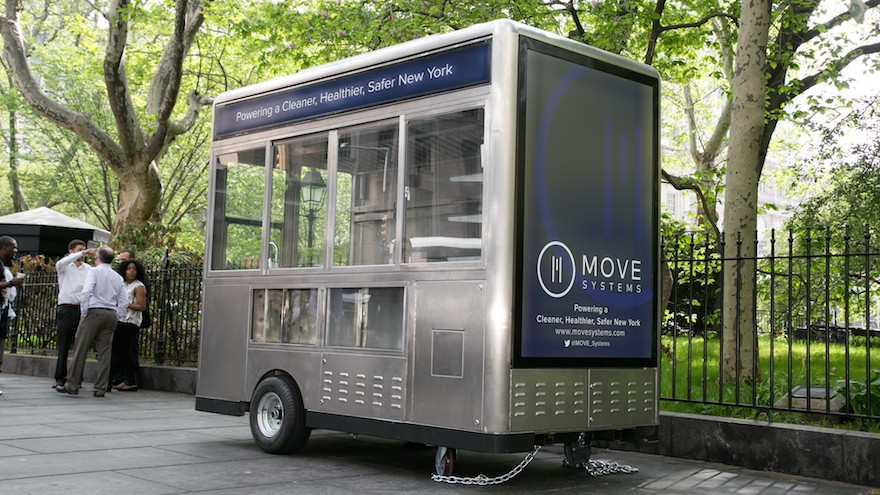 MOVE Systems' MRV100s is eco-friendly and more economical