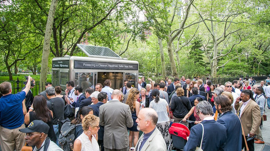 There is a vibrant Food Cart culture in the USA