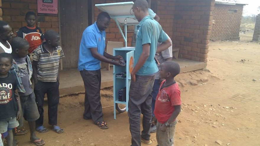 Juabar's solar kiosks provide much needed energy to rural areas