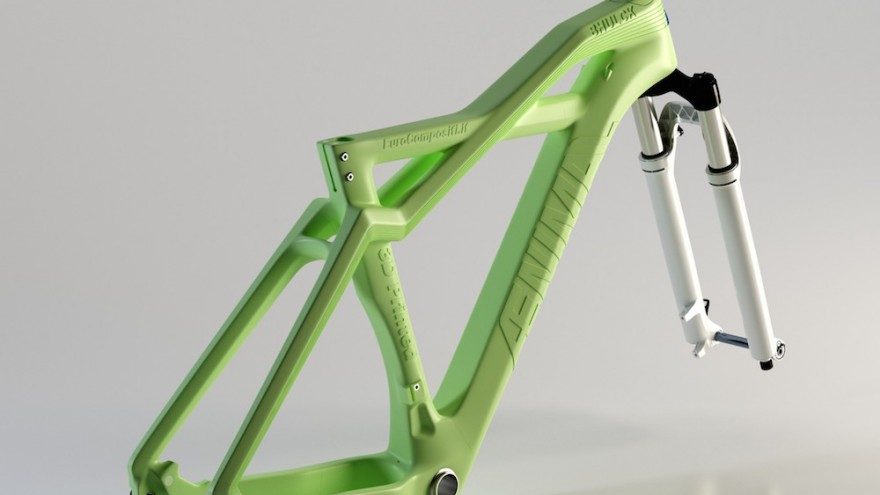 The Bhulk bike frame