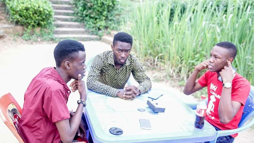 Obafemi Awolowo University engineering students have built Humane – an app to make smartphone features more accessible to the blind. Image: Techpoint