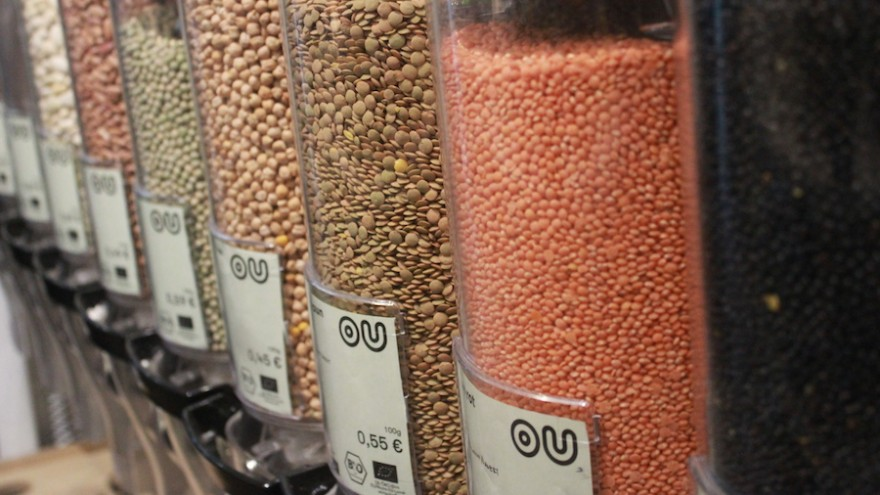 Original Unverpackt is a zero-waste, no packaging food market.