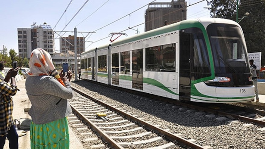 The recent launch of Addis Metro is a move by the Ethiopian government to cure the country's commuting headache. Image: constructionreviewonline.com