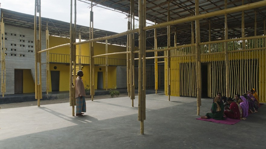 "The Pani Community Centre in Rajarhat, Bangladesh acts as a technical school and community centre for children of the so-called ""landless people"".  Image: SchilderScholte"