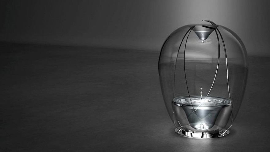 """Coth Studio designed an """"atmosphere creation object"""" to promote relaxation, meditation and mindfulness."""