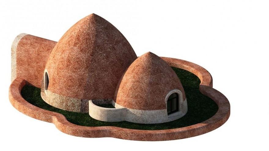 Earthbag housing