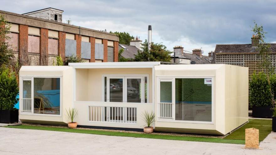 Modular housing is the solution to homelessness in Dublin.