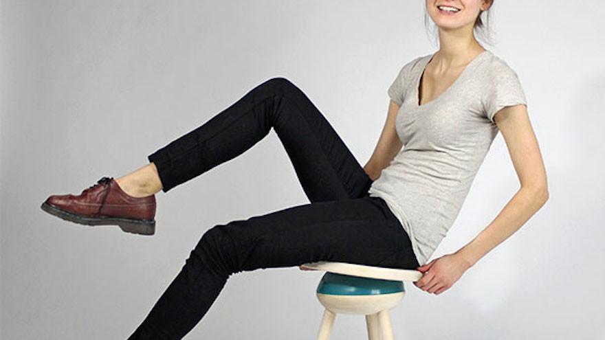 Megan Czaja Oblio stool