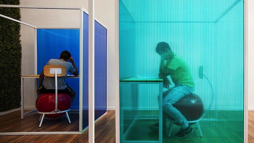 Innovative Classroom Design : These classrooms are designed to help children with adhd