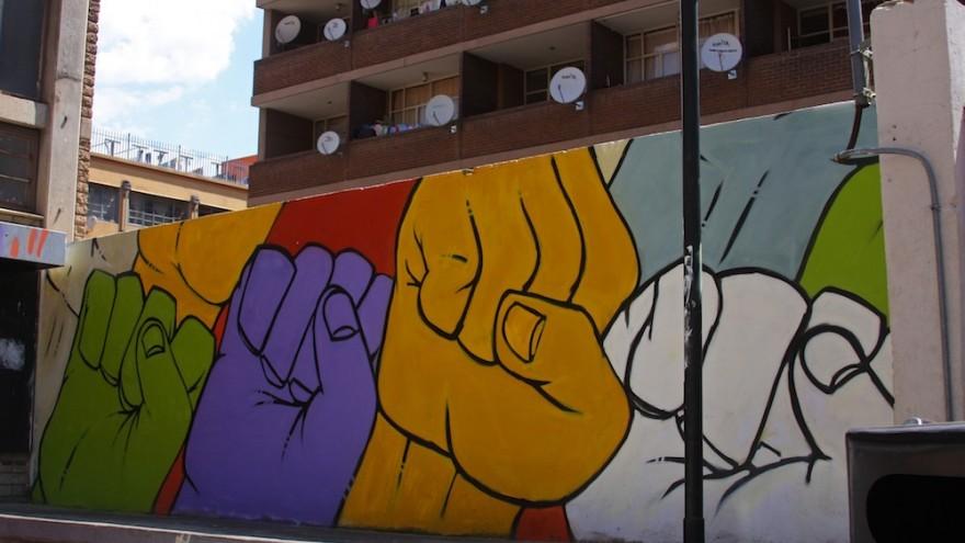 King Deb mural